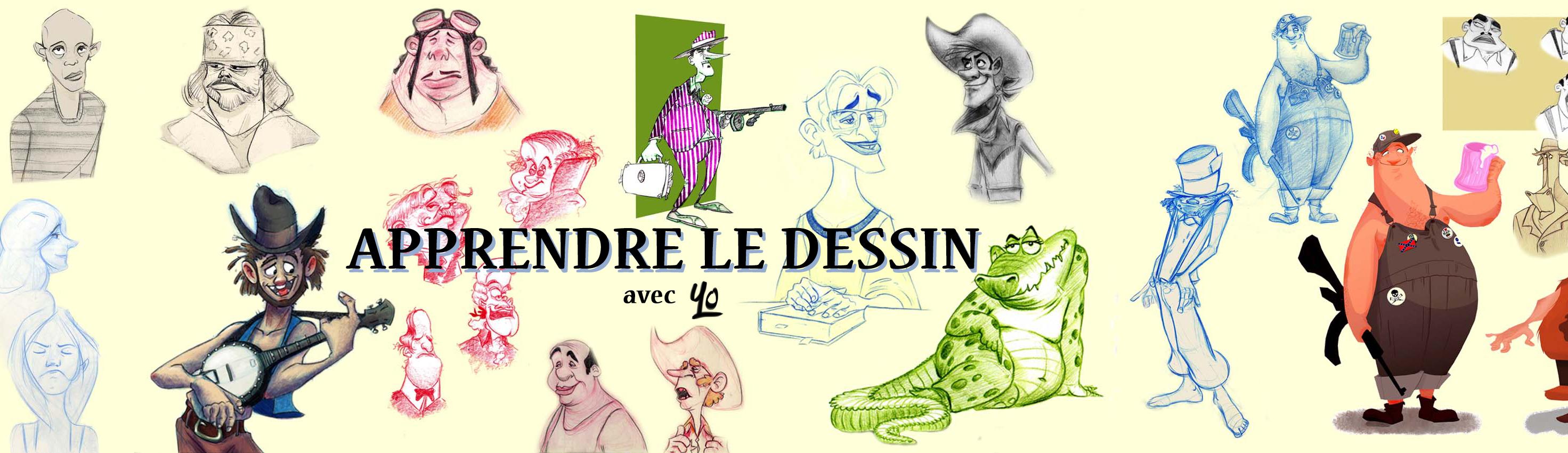 Apprendre le Dessin header image